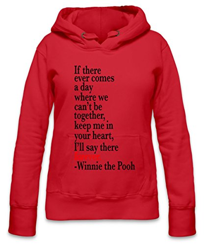 If There Ever Comes A Day Slogan Womens Hoodie X-Large