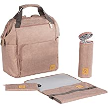 Lässig 1103010708Mochila para pañales Glam Goldie Backpack, color rosa