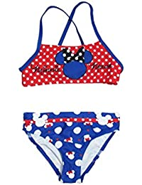 c2ef03726e Disney Costume da Bagno Bambina a Pois Minnie Mouse Mare e Piscina - 1744