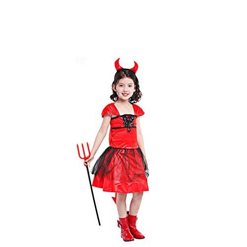 Masterein Halloween Kind M?dchen Erwachsene Frauen M?nner Rot Hexe B?se Kost¨¹m Party Cosplay Kost¨¹m Familie (Halloween Customes Für Männer)