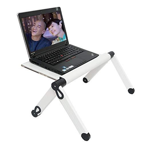 """Preisvergleich Produktbild Portable Folding Laptop Desk - Home Office Desk - Beste Geschenk-Freund - Männer / Frauen / Student Mit Lüfter - Für 17""""Laptop - Schwarz"""