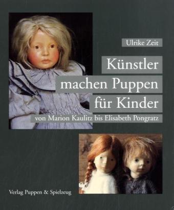 Künstler machen Puppen für Kinder