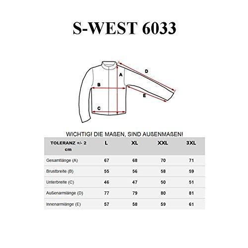 BOLF Strick Jacke Herrenpullover Streifen Hoodie Sweater Mix 1A1 Pulli  Anthrazit_6033
