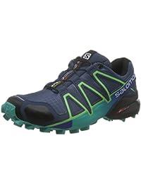 Salomon Speedcross 4 - Chaussures de running Femme - bleu/turquoise 2016