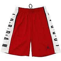 Nike Rise Graphic, Short Uomo, Rosso/Bianco/Nero/Nero, L