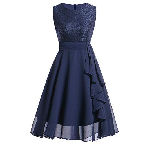 BOLANQ Damen Kleid Retro 1920er Stil Flapper Kleider Mit Zwei Schichten Troddel V Ausschnitt Great Gatsby Motto Party Kleider Damen KostüM Kleid