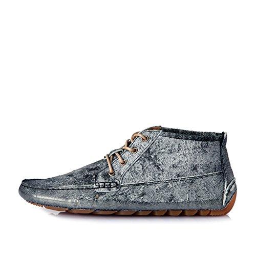 Haute couture loisirs coréen chaussures Tendance rétro Doug le cuir patiné chaussures à la fin de/Chaussures de rétro Doug à la fin de A