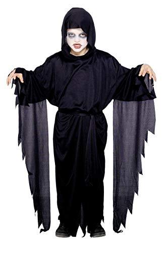(Smiffys Kinder Screamer Geist Kostüm, Robe mit Kapuze und Gürtel, Größe: L, 21818)
