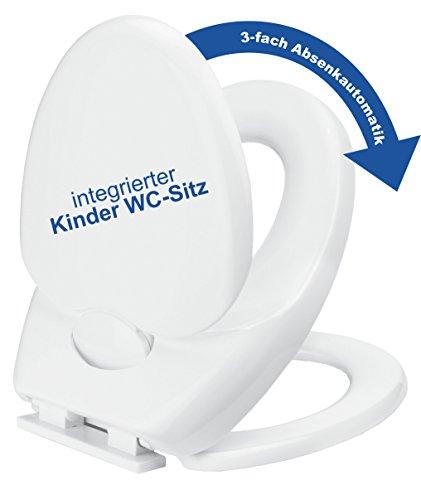 Cornat WC-Sitz Family Comfort mit 3-fach Absenkautomatik-weiß - 8