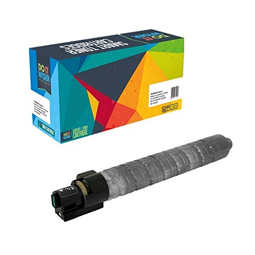 Doitwiser ® kompatible SchwarzeTonerpatrone für Ricoh Aficio MP C4503 SP MP C4503 ASP MP C5503 SP MP C5503 ASP (841853) hohe Kapazität 33.000 Seiten