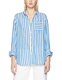 Tommy Hilfiger Aris Shirt Ls W3, Blusa para Mujer