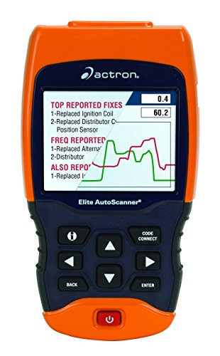 Actron CP9690 Trilingual OBD I/OBD II Elite AUTOSCANNER Pro Kit with Color Screen by Actron