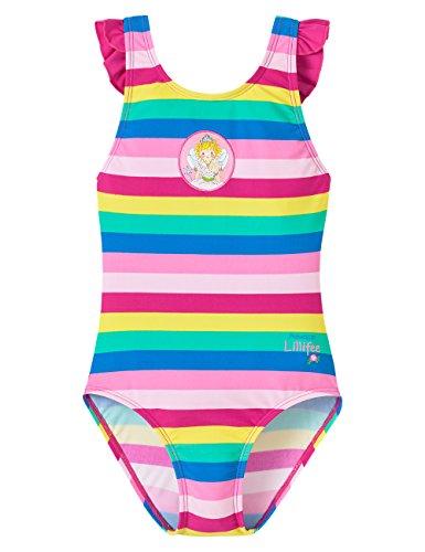 Schiesser Mädchen Einteiler Badeanzug UV Schutz 40+ UV Schutz 40+ Prinzessin Lillifee, Gr. 98, Mehrfarbig (multicolor 1 904)