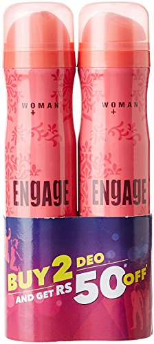 Engage Blush Deo Spray, 150ml (Pack of 2)