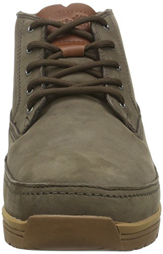 Boxfresh Herren Cryser UH Lea/Sde High-Top Braun (Dark Brown)