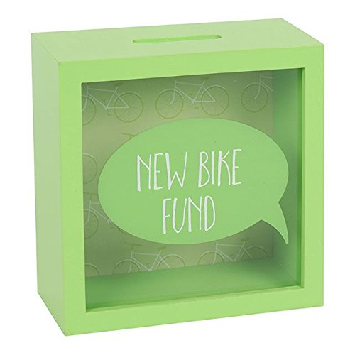 Jones Home and Gift - Caja Dinero Bicicleta