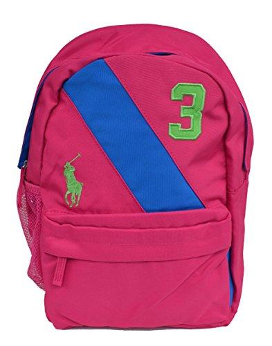 Ralph Lauren Rucksack für Mädchen Banner Backpack Pink (Ralph Lauren Rucksack)
