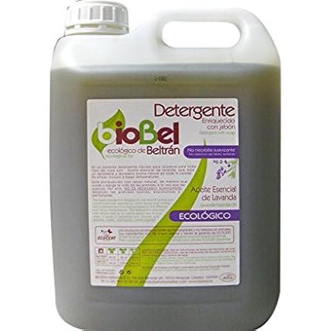 biobel–Detergente Liquido Ecologico lavatrice, Lavanda) 5Lt