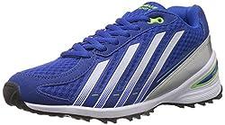Columbus Mens Mizzono Black and Royal Blue Mesh Running Shoes - 6 UK (MIZZONOBLKRBLU006)