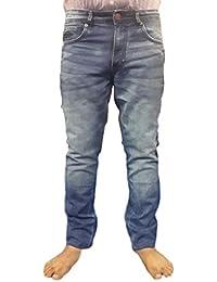 Super Dry Men's Denim Jeans(SD001_30_Blue)