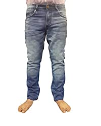 Super Dry Mens Denim Jeans(SD001_38_Blue)