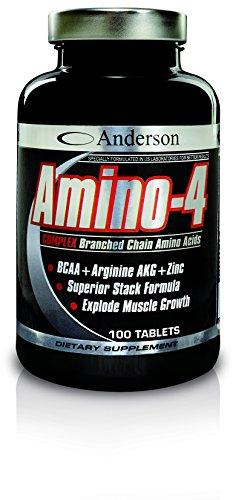 ANDERSON AMINO-4 COMPLEX 100 CPR