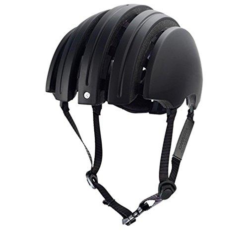 Brooks J.B. Classic Faltbarer Fahrrad Helm Schwarz Elegant Leder Urban Fixie, 80100, Größe M (55 - 58 cm)