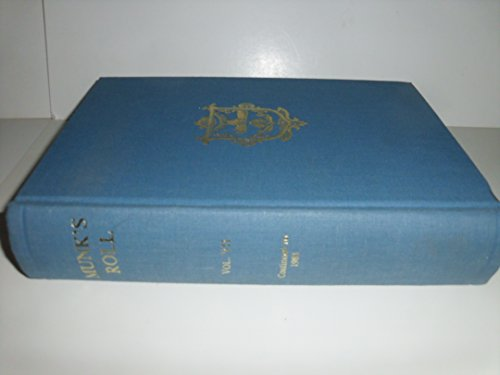 Roll of the Royal College of Physicians of London: v. 7