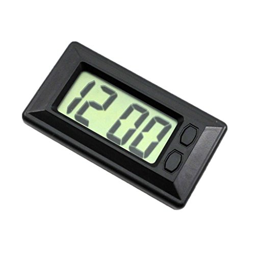 Sharplace Mini Digital LCD Auto PKW LKW Armaturenbrett Datum Zeit Kalender Uhr , Zubehörmarkt-teil