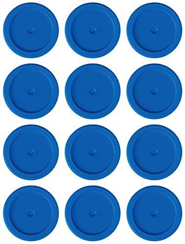 Tapes4you Ersatzchips für Looping Louie & Looping Chewie Chips Hasbro (12 Stück, Blau) -