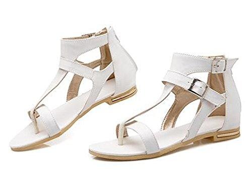 Flache Sandalen Frühling Weiß Und Sommer Schuhe Sehne 2016 q8xXUwxz