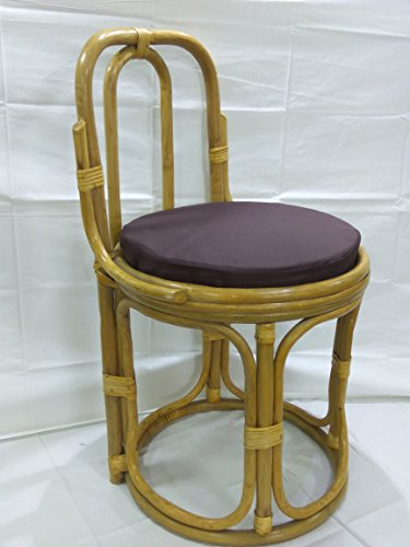 Cane World Stool Chair With Cushion