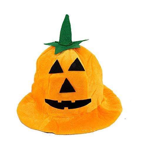 Rocita cappello della zucca di halloween costume del partito della sfera a fondo tondo occhio acuto unisex del costume di halloween zucca di halloween costume cappello puntelli 1 confezione