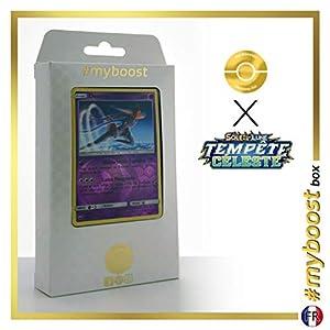 Deoxys 69/168 Holo Reverse - #myboost X Soleil & Lune 7 Tempête Céleste - Box de 10 Cartas Pokémon Francés