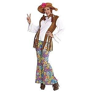 WIDMANN Widman - Disfraz de hippie años 60s para mujer, talla XL (5605W)