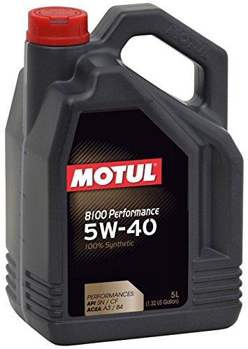 MOTUL 8100 Performance 5W40 5L