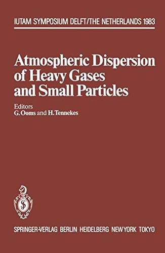 Atmospheric Dispersion of Heavy Gases and Small Particles: Symposium, Delft, The Netherlands August 29 - September 2, 1983 (IUTAM Symposia) -