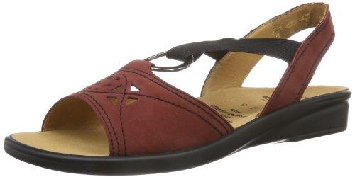Ganter - Sonnica Weite E, Sandali Donna Rosso (Rot (rubin/schwarz 9101))