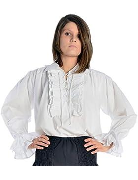HEMAD/Billy Held - Camisas - Básico - falso cuello - Manga Larga - para mujer