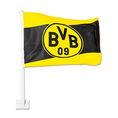 Preisvergleich Produktbild Borussia Dortmund BVB 11154400 Autofahne