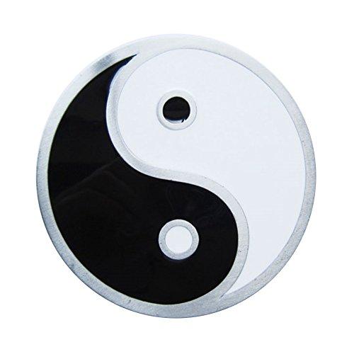 Preisvergleich Produktbild Urban Backwoods Yin & Yang Gürtelschnalle für Wechselgürtel Buckle