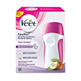 Veet Easy Wax Kit de Roll On Eléctrico para Cera Depilatoria Caliente