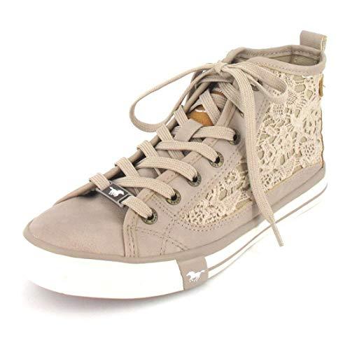 MUSTANG Sneaker high Größe 41, Farbe: beige