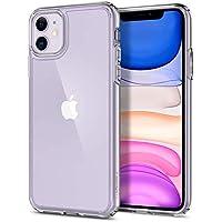 Spigen Ultra Hybrid, Designed for iPhone 11 Case, Hard PC Back Flexible Bumper Slim Protection Case for iPhone 11 (2019) - Crystal Clear