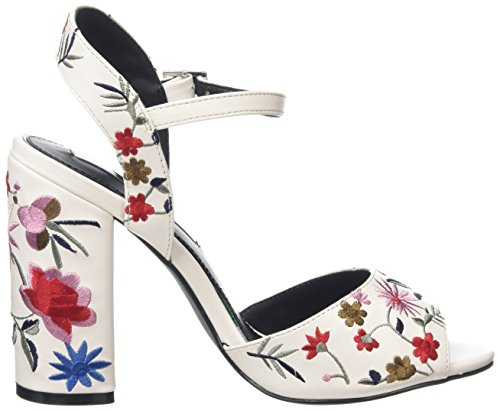 Miss Selfridge - Embroidered, Strap alla caviglia Donna Multicolour (Multi)