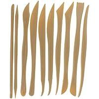 IPOTCH Set de 10pcs Outil de Sculpture Poterie Céramique Polymère Argile  Parsemant Outils pour Moulage DIY f1dd902f44e7
