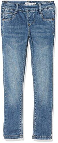 Name it nmfpolly dnmtora 2094 legging, jeans bambina, blu (medium blue denim medium blue denim), 10 (taglia produttore: 110)