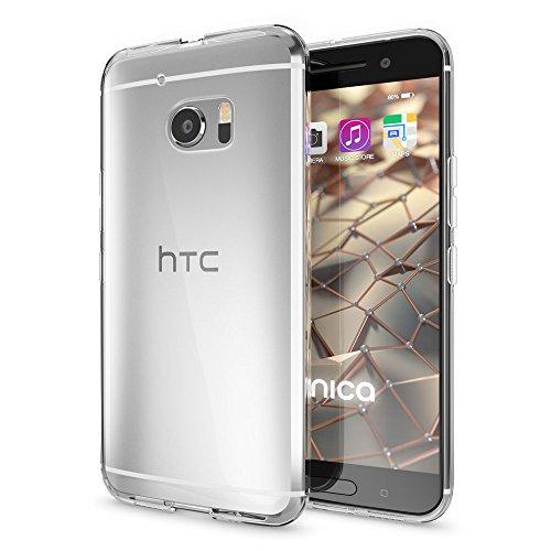 nica Schutzhülle Case TPU Silikon HTC 10 Smartphone - Transparent