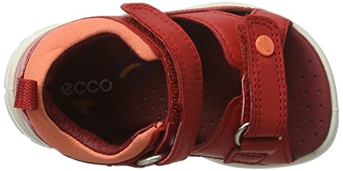 Ecco Peekaboo, Chaussures Marche Bébé Fille Rot (50291TOMATO/CORAL)