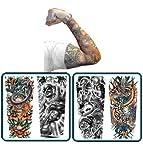manga de tatuaje